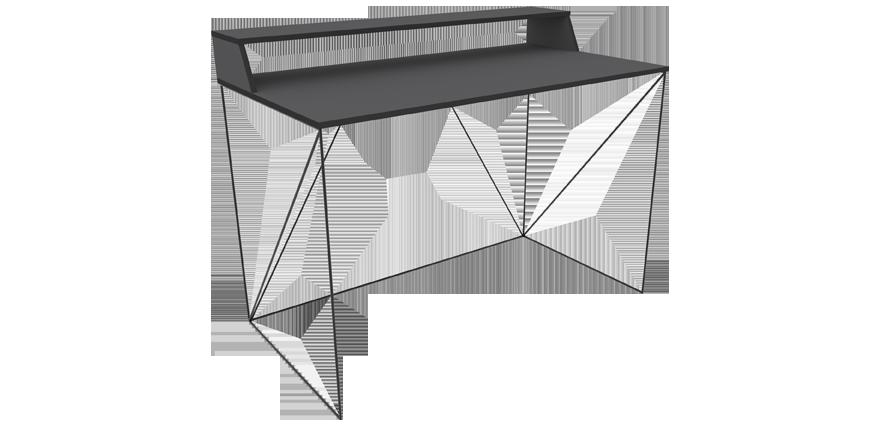 Bureau structure métallique