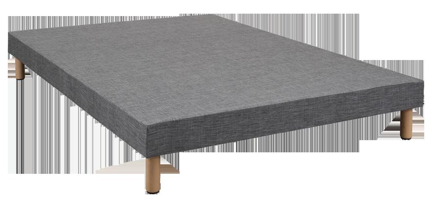 Sommier tapissier déco gris